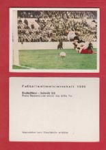 West Germany v Switzerland Beckenbauer Sheffield Wednesday
